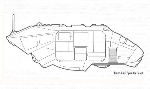 Camion speeder A-A5