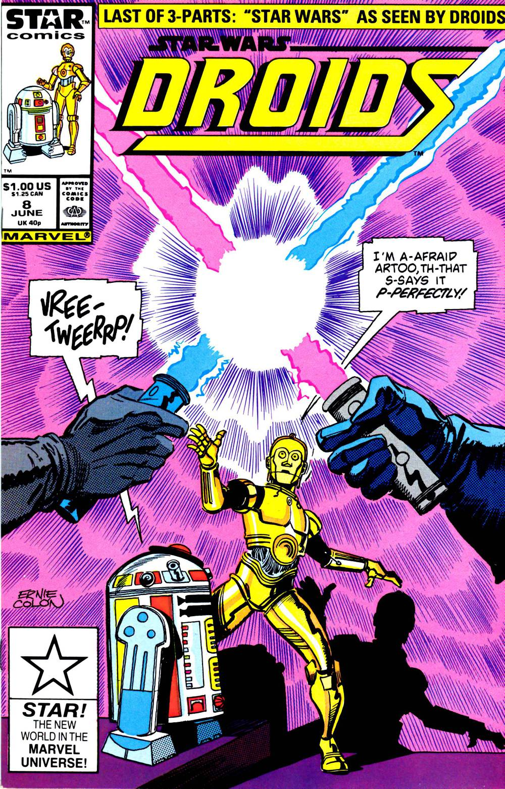 Droids #8 - Star Wars According to the Droids, Part 3