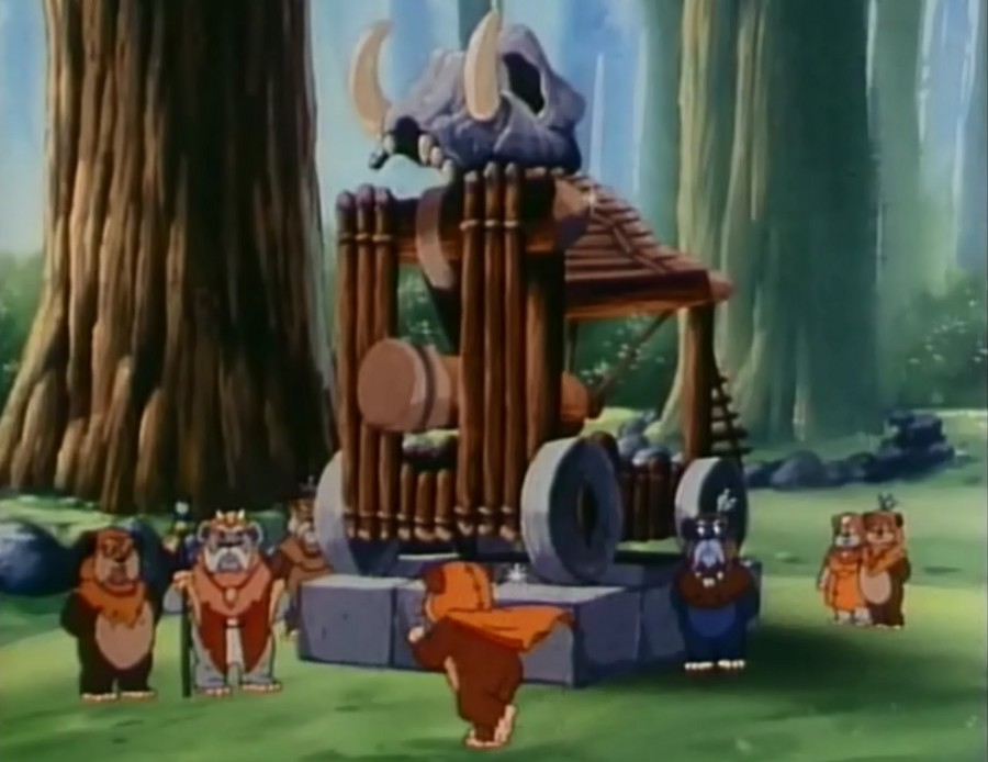 Ewoks S01E10 - Le chariot de Wicket