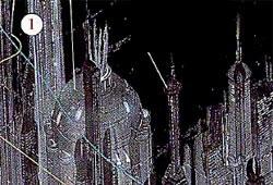 Coruscant - Immeuble-mémorial aux Aiguilleurs Contre-révolutionnaires de Nicandra