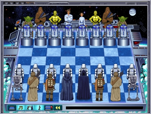 The Software Toolworks' Star Wars Chess