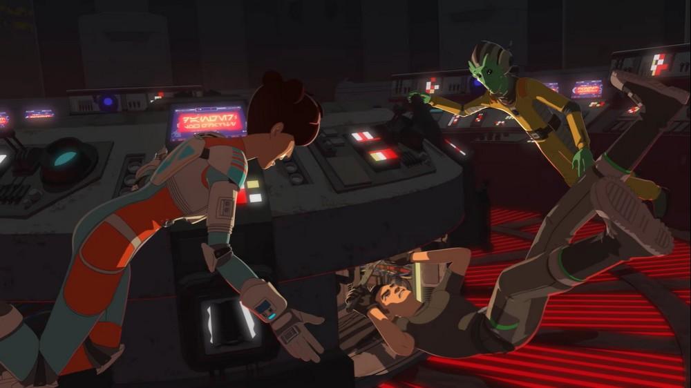 Star Wars Resistance - S02E01 - Le Saut dans l'inconnu