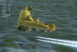 Patrouilleur maritime droïde