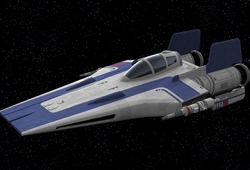 Intercepteur A-wing RZ-2
