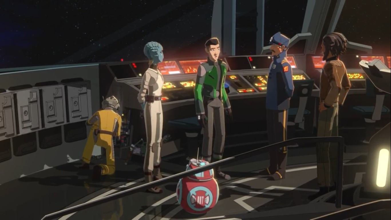 Star Wars Resistance - S02E05 - The Engineer