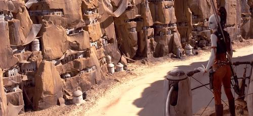 Tatooine - Canyon du Mendiant