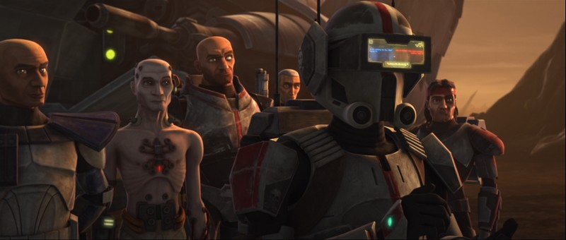 The Clone Wars S07E03 - Sur les ailes des Keeradaks