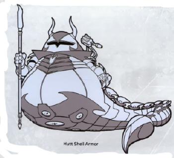 Armure de Hutt à carapace