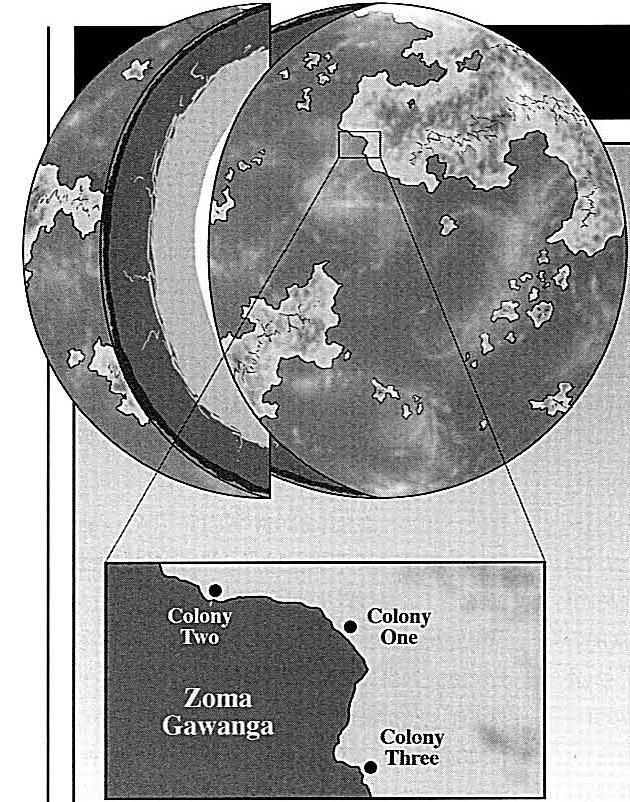 Ylesia - Colonie Un