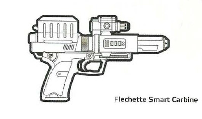 Carabine à Fléchettes Intelligentes SWG-7