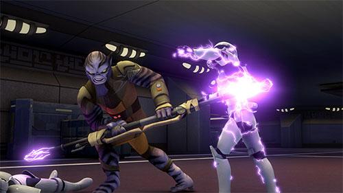 Rebels S01E01 - Droïdes en détresse