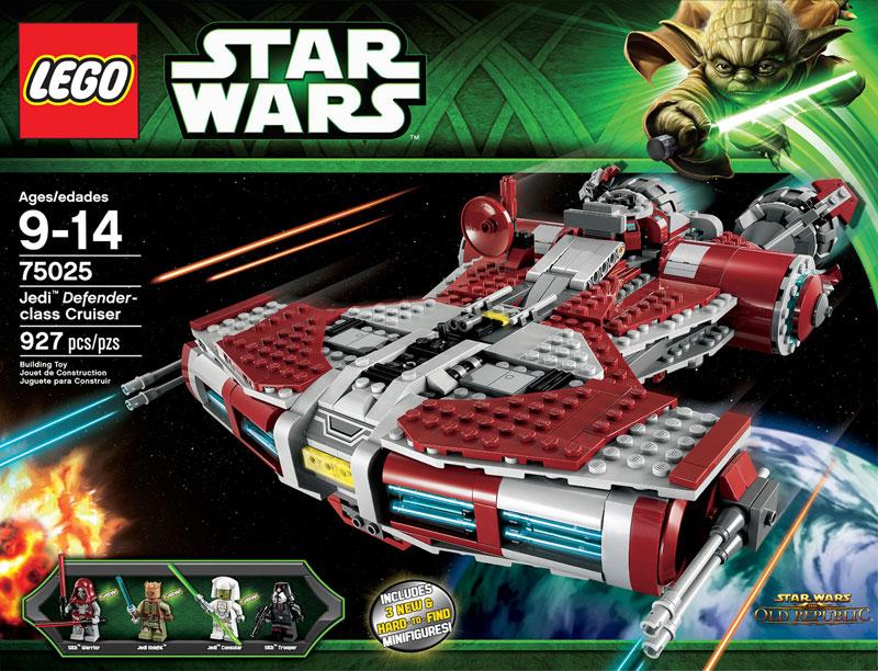 informations  lego star wars jedi defender class cruiser