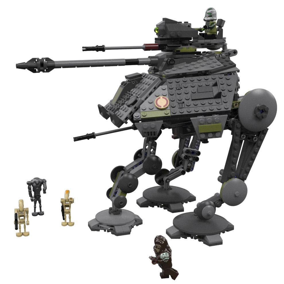 lego star wars clone base 2014