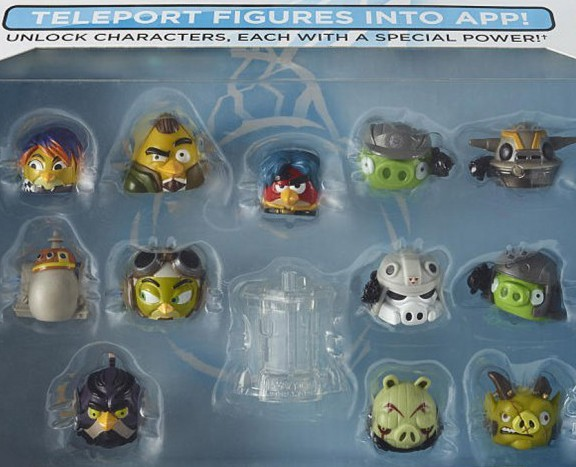 Star Wars Miniatures: nouvelles figurines Angry birds Star Wars