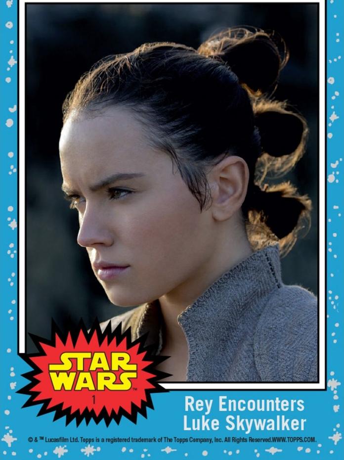 Topps Star Wars les dernières Jedi numéros 2017