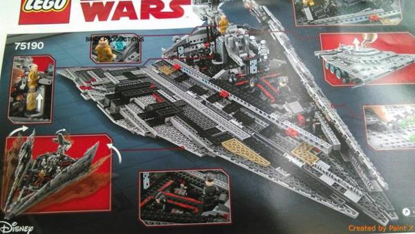 MAJ Star Wars 8 Fuite de quelques