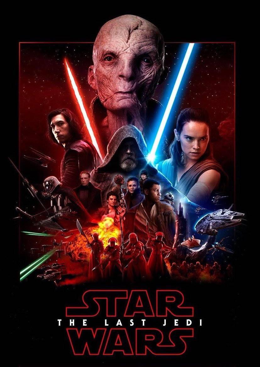 Star Wars VIII : Un aperçu des prochaines affiches ...