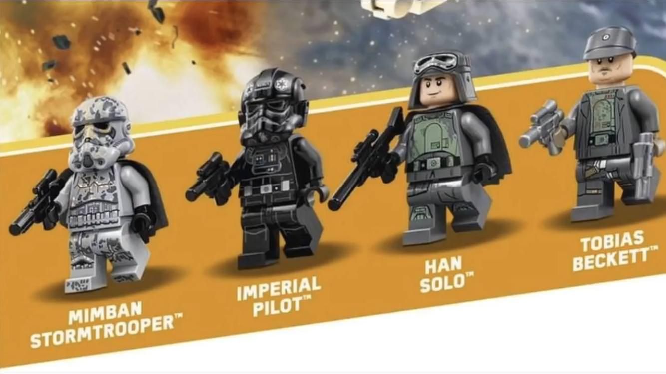 Lego Star Wars Integralite Des Visuels Sets Solo En Hd Darth Vader Wallpaper
