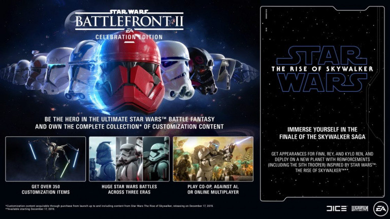 Star Wars Battlefront 2 - Le contenu de la Deluxe Edition